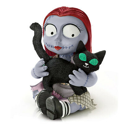 Lil Sally and Lucky Figurine -Nightmare Before Christmas - Bradford Exchange
