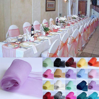 21 Colors 25Pcs Sheer Organza Chair Covers Sashes Party Wedding Hotel Bows Decor