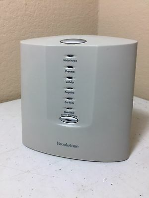 Brookstone Noise Sound Machine Tranquil Moments Sleep Therapy
