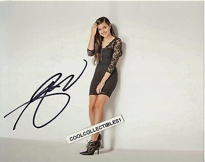 "Amber Montana ""haunted Hathaways"" In Person Signed 8X10 Color Photo 15 ""proof"""
