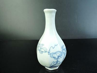 E7494: Korean Ly Dynasty Flower Arabesque pattern FLOWER VASE Ikebana