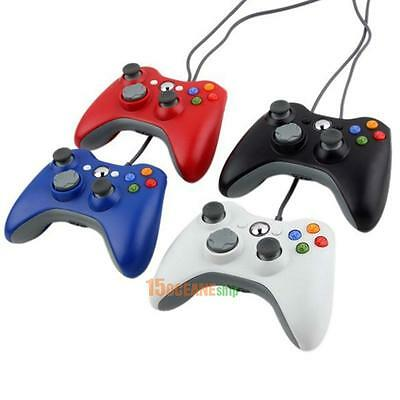 Wired Gamepad USB Game Pad Joypad Controller for MICROSOFT Xbox 360 Slim PC New