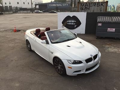 2008 BMW M3 Base Convertible 2-Door 2008 BMW M3 Convertible Fox Red Interior Recently Serviced Excellent Condition