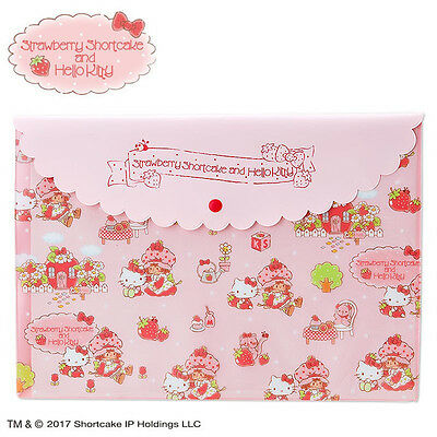 PVC Multi Case Hello Kitty Strawberry Shortcake ❤ Sanrio Japan