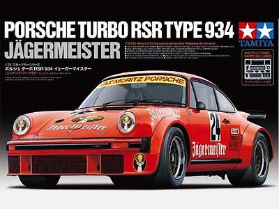 Tamiya 24328 1/24 PORCHE TURBO RSR TYPE 934 JAGERMEISTER Limited Ver. from Japan