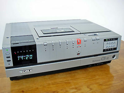 Sony SL-C5UB Betamax Video Recorder Beta - Fully Working - Excellent Condition