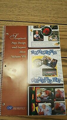 creative memories scrapbook page design and layout ideas volume 7