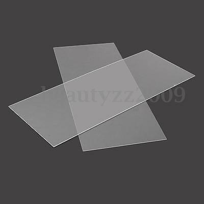 1mm 2mm 200x500mm Acrylic Perspex Sheet Cut to Size Panel Plastic Satin Gloss