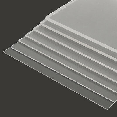1-10mm A3 297x420mm Acrylic Perspex Sheet Cut to Size Panel Plastic Satin Gloss
