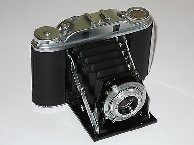 Agfa Isolette 111. Solinar. Synchro Compur. Excellent+ Condition. Erc. Tested.