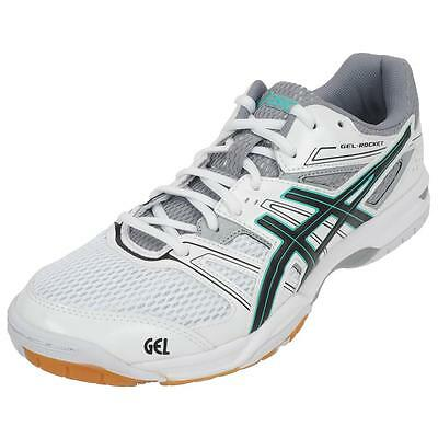 Chaussures volley ball Asics Rocket 7 gel wht volley l Blanc 51064 - Neuf