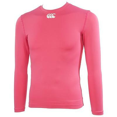 Sous vêtements thermiques chaud Canterbury Cold long sleeve Rose 37765 - Neuf