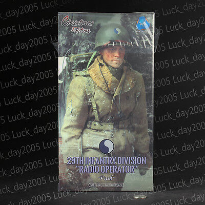 """DID WWII US 29th Infantry Division Radio Operator """"Paul"""" 1/6 Christmas Edition"""