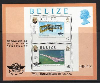 BELIZE 1979 DEATH CENT ROWLAND HILL MS513(a) CAT £11