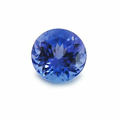 0.50 CTS Earth Mined Top Quality AAA BLUE NATURAL TANZANITE Investment Grade