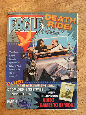 Eagle Comic - 4th December 1982 - IPC/Fleetway Publishing
