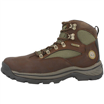 Timberland Chocorua Trail Mid Gtx Boots Men Herren Gore-Tex Stiefel Brown 15130