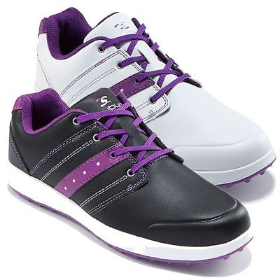 33% Off Rrp Stuburt Ladies Urban Casual Womens Spikeless Golf Shoes - Leather