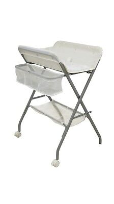 Babyhood 3-in-1 Bath Stand, Change Table and Laundry Stand (White)