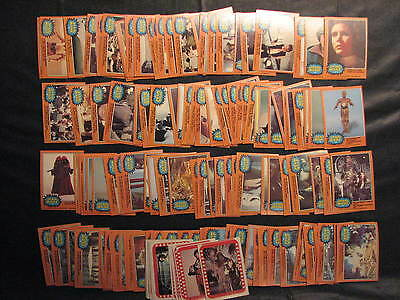 Star Wars Card Set OPC 1977 Series 3 complete 132 cards + 22 sticker cards