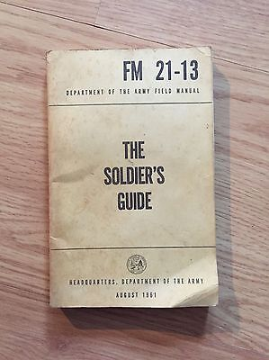The Soldier's Guide - US Department Of Army (1961) Vietnam War