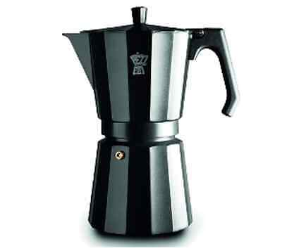 New Pezzetti Luxexpress 9 Cup Coffee Maker Espresso Stove Top Kitchen Home Cups