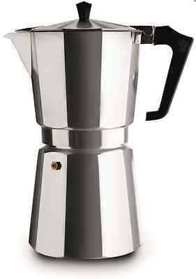 New Pezzetti Italexpress 14 Cup Coffee Maker Espresso Stove Top Kitchen Cups