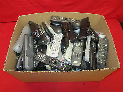 *Huge Lot Of 185 Remote Controls* Mixed/ Assorted TV/VCR/DVD Player Remotes