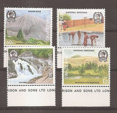 Swaziland 1991 National Heritage Set SG583-6 Mint Never Hinged w8873