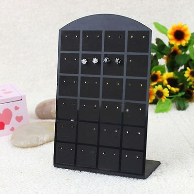 Pair Holder Display Convenient Jewelry Rack Earring Box Jewelry Frame Earrings