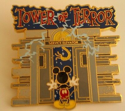 Disney's Pins - Mickey Mouse & The tower of Terror