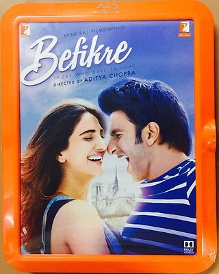 Befikre Blu-Ray - Ranveer Singh - Bollywood Movie 2 Disc Special Edition Bluray