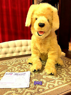 FurReal Biscut MY LOVIN' PUP Golden Retriever Dog Interactive by HASBRO