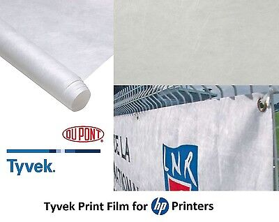 """HP Durable Banner with Dupont Tyvek 36"""" x 60' #C0F12A Inkjet Waterbase 1 Roll"""