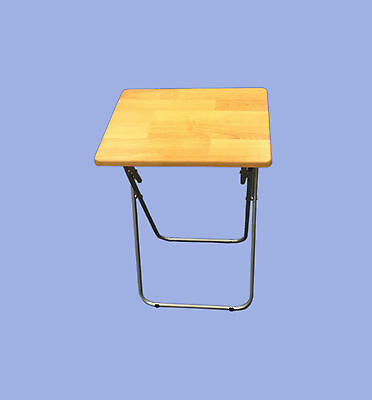 Large Folding Tv Table Dinner Table Disability Space Saving Student Art Home