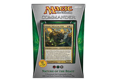 NATURE OF THE BEAST - COMMANDER 2013 Edition Decks - MTG MAGIC - SEALED English