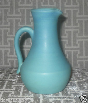 "☆ VAN BRIGGLE Art Pottery CLEM HULL ORIGINAL 7"" Tall Pitcher Hand Thrown 1950's"