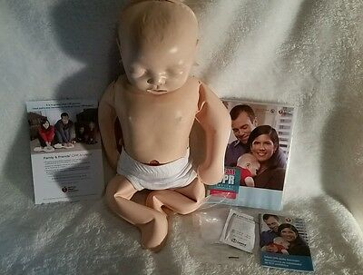 INFANT CPR ANYTIME LEARNING DVD KIT w/ BABY FREE SHIPPING CPR Baby