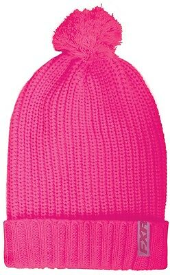 FXR Cozy Womens Beanie Hat Hot Pink OS