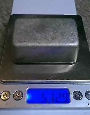 0.5 kilo ingot of .999% pure TIN  572 grams not Silver or Gold Good investment
