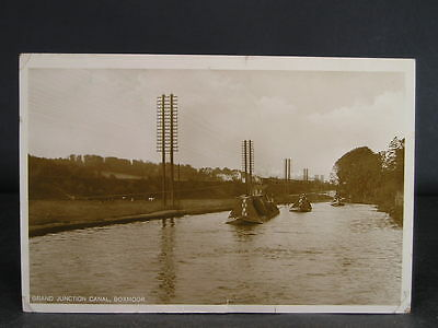 no 115 c1933  Canal  Photo Postcard Grand Junction Canal at Boxmoor