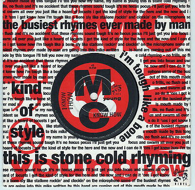 """YOUNG M.C. - The Fastest Rhyme - My Name is Young / Know  7"""" Single"""