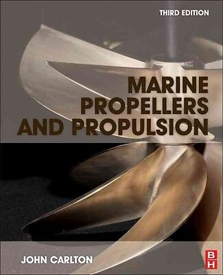 Marine Propellers and Propulsion by J.S. Carlton Hardcover Book (English)