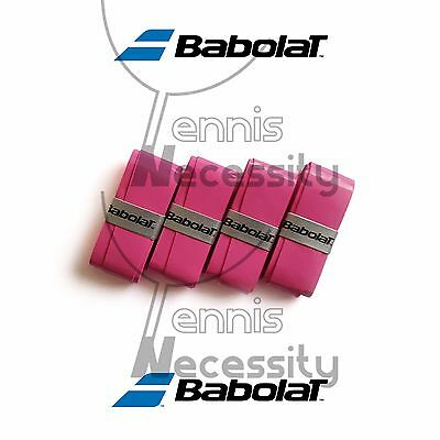 Set Of Two Babolat Pink My Grip Tennis Over Grip 2 New Grips Squash Badmington