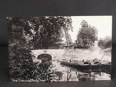 no 129   Canal  Photo Postcard The Canal at Grantham