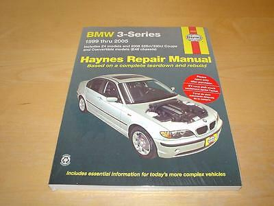Haynes BMW 3 SERIES E46 SALOON COUPE CONVERTIBLE Z4 Owners Handbook Manual Book