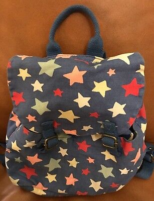 Cath Kidston Kids Stars Bag Rucksack Backpack VGC