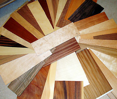 Real Wood Veneer Sheets Exotic Selection For Marquetry,restoration,dolls Houses