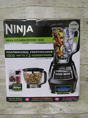 NINJA MEGA KITCHEN System 1500 Nutri Ninja, Food Processor ...
