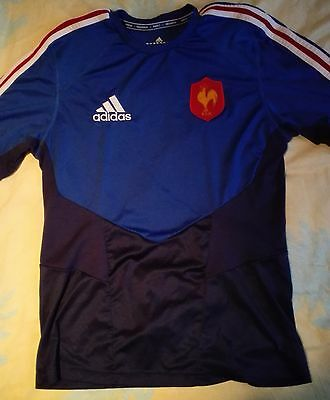 Maillot Entrainement Xv France Ffr Rugby 2013/2014 T M